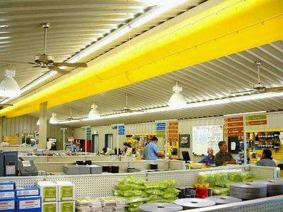超市领域 布风管